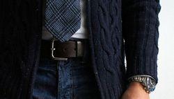 Как выбрать джинсовый ремень из кожи
